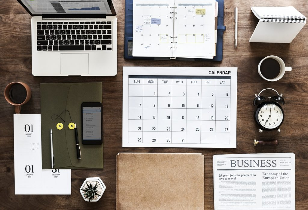 planificador mensual planner