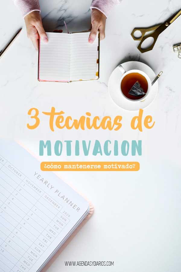tecnicas de motivacion laboral personal